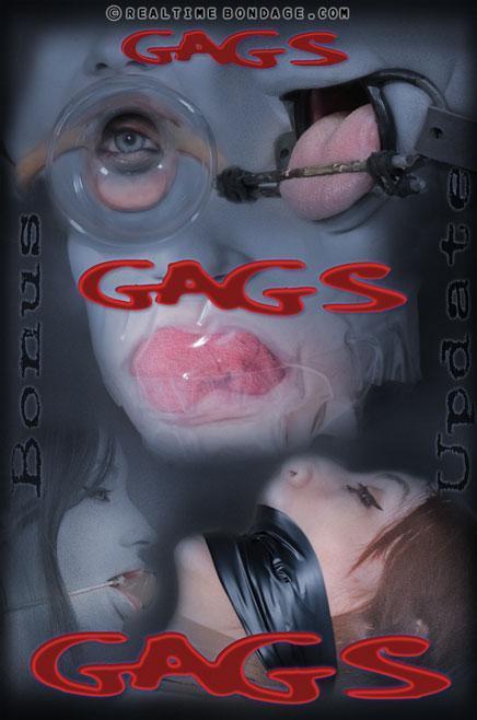 Gags, Gags, Gags / Violet Monroe / 15.11.2016 [RealTimeBondage / HD]