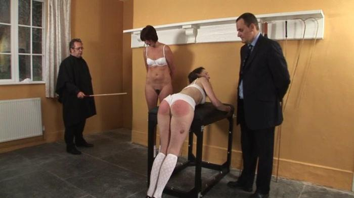 Fiona and Sarah - The Punishment Room (Spanking) [SD, 540p]