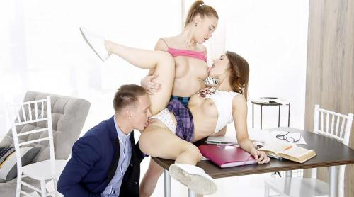 FuckStudies.com [Shakila Asti and Sofy Torn - Well-hung tutor serves two students] SD, 406p