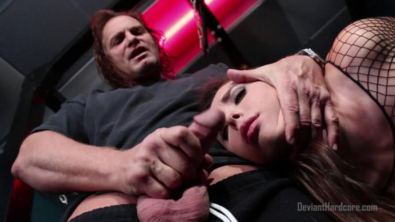 DeviantHardcore.com: All Natural Casey Calvert Throat Fucked [FullHD] (956 MB)