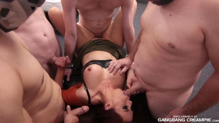 GangbangCreampie.com - Amber - Gangbang Creampie 86 (Group sex) [SD, 400p]