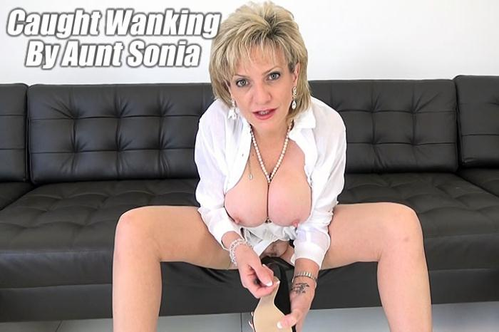Lady-Sonia: Lady Sonia - Aunt Sonia Has Secretly Been Watching You Wank [FullHD 885 MB]