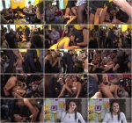 Publ1cD1sgr4c3, Kink: Carolina Abril, Tina Kay - Public Slut Works the Crowd (HD/720p/1.73 GB) 15.11.2016