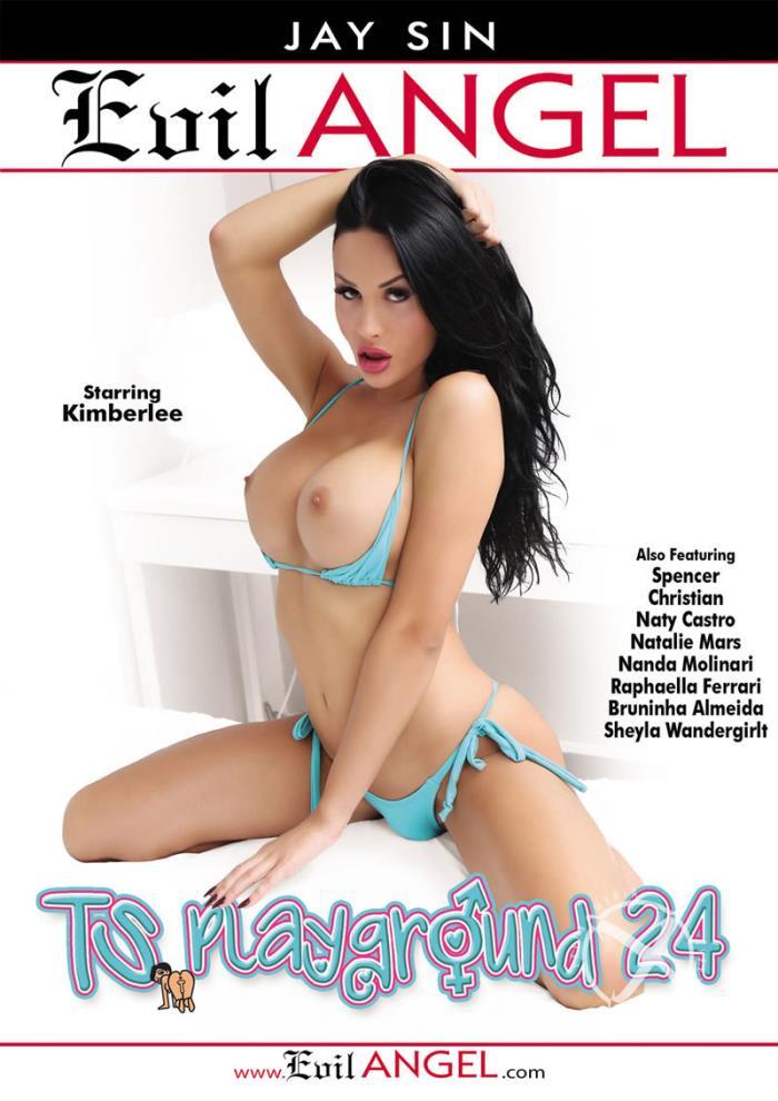 Evil Angel: Bruninha Almeida, Christian XXX, Kimberlee, Nanda Molinari, Natalie Mars - TS Playground 24 [WEBRip/SD 540p]