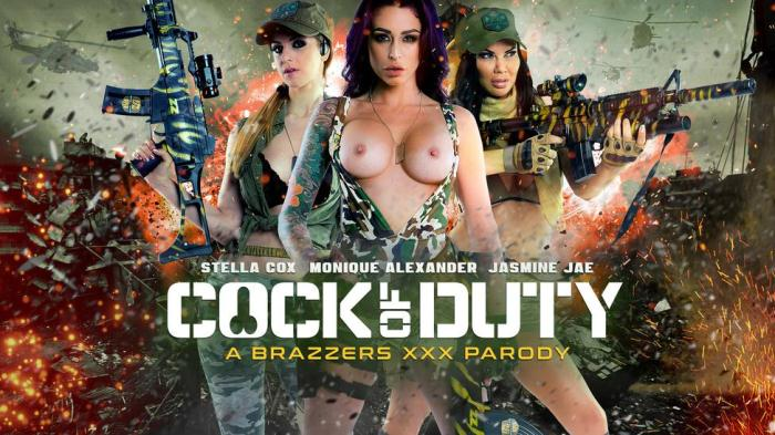 Cock Of Duty / Jasmine Jae, Monique Alexander, Stella Cox / 03-11-2016 [SD/480p/MP4/292 MB] by XnotX
