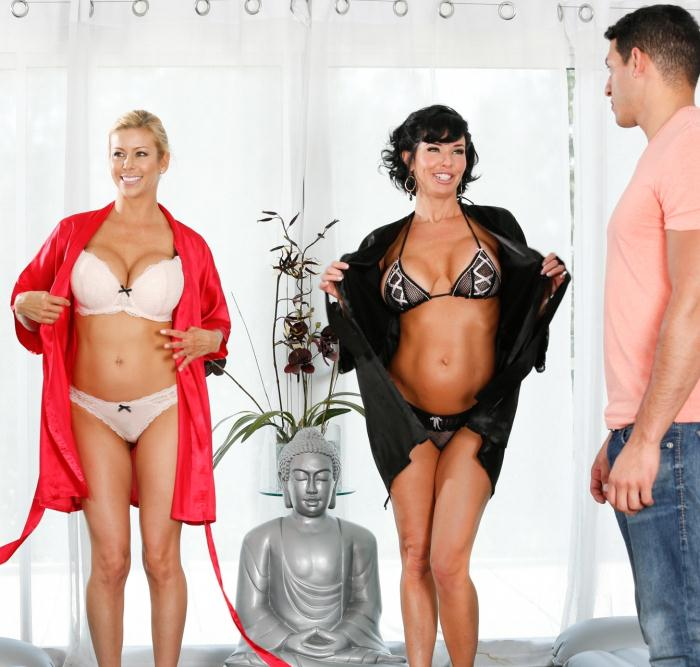 Fantasymassage: Veronica Avluv, Alexis Fawx - Hotel Room Mishap  [HD 720p]  (Massage)