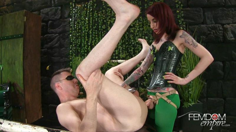 F3md0m3mp1r3.com: Poison Ivy Strap-on Villainess [FullHD] (1.55 GB)