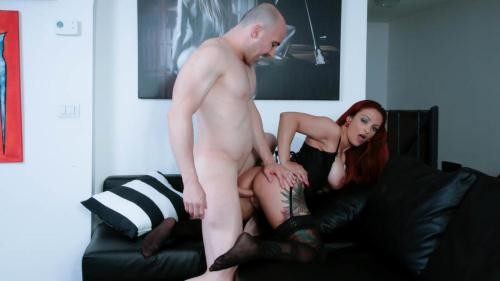 ScambistiMaturi.com [Mary Rider - Tattooed mature Italian amateur gets facial after hot pussy and ass fuck] SD, 480p