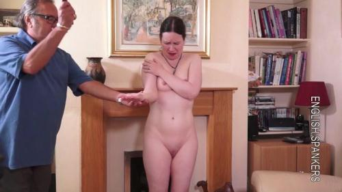 EnglishSpankers.net [Kali - Mr Stern Uses His Cane] HD, 720p