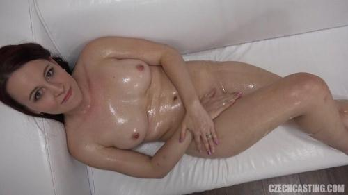 CzechCasting.com/Czechav.com [Jana (3747) - Brunette in Oil] HD, 720p