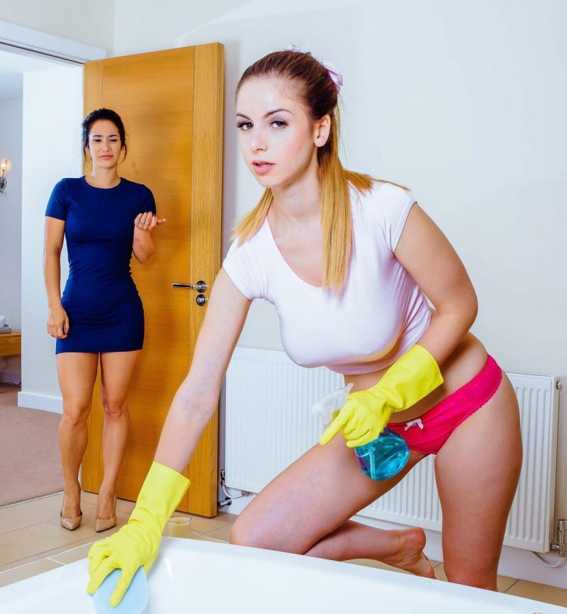 DigitalPlayGround - Eva Lovia,Stella Cox [Clean Up Your Act] (HD 720p)