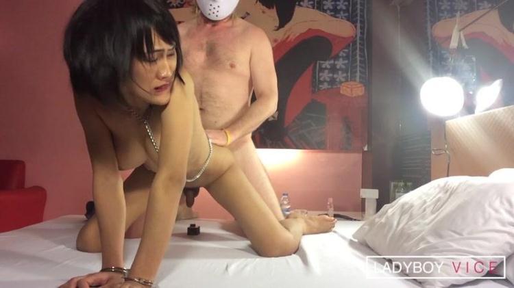 Yuki - Slimy and Busty Cum Target / 23.11.2016 [LadyboyVice / HD]