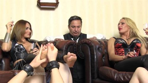 HOW LORDLY LADIES RELAX [FullHD, 1080p] [SADO-LADIES.com] - Femdom