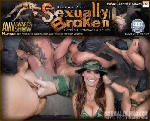 SexuallyBroken.com [Hot Cougar is hooded and brutally fucked while bound helpless, non-stop squirting orgams!] SD, 540p