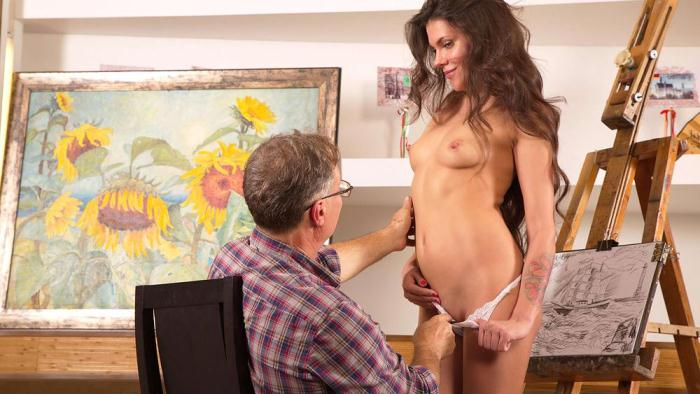 Tricky old art teacher fucks on of his most promising students (TrickyOldTeacher) SD 480p
