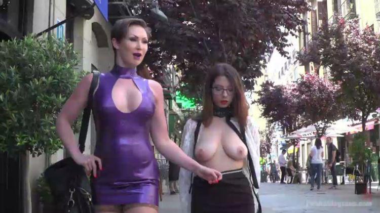 Zenda Sexy - Walk of Shame / 24.10.2016 [PublicDisgrace / SD]