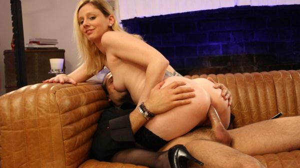 Lexy Bee - Naughty blonde French newbie gets pussy and ass fucked hard by Max Casanova (LaNovice) SD 480p