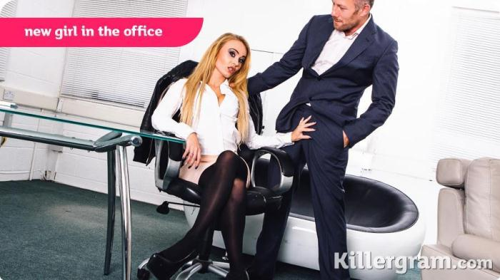 CumIntoMyOffice: Carmel Anderson - New Girl in The Office (SD/360p/203 MB) 13.11.2016
