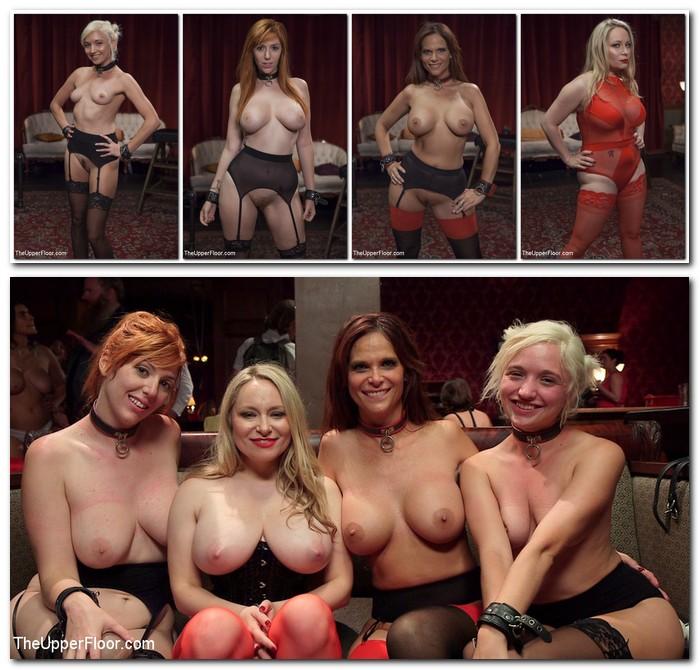 TheupperFloor/Kink: Syren de Mer, Eliza Jane , Aiden Starr, Lauren Phillips - The Fantastic Fucking Folsom Orgy Pt. 2  [SD 540p] (981 MiB)
