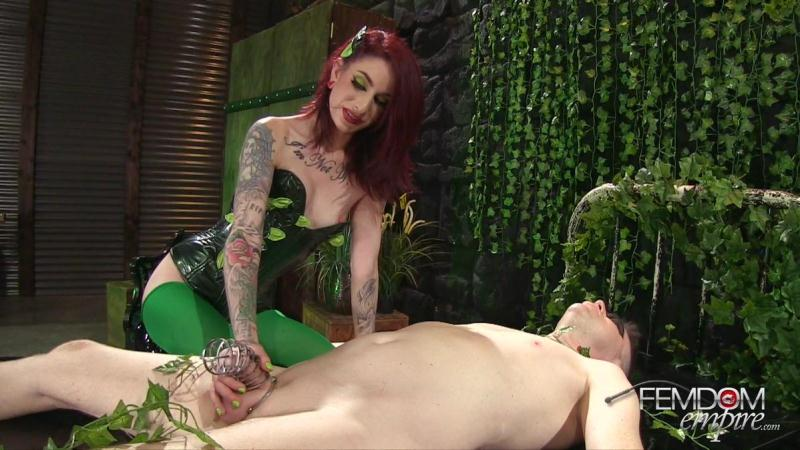 F3md0m3mp1r3.com: Sheena Rose - Poison Ivy: Toxic Seductress [FullHD] (928 MB)