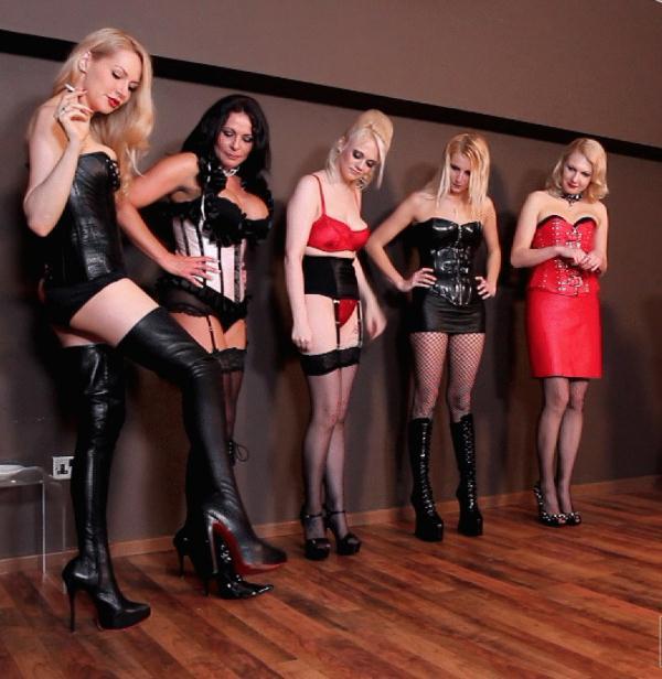 Divine Mistress Heather, Lady Natalie Black, Mistress Akella, Mistress Carly, Mistress Eleise de Lacy - Smash Hits  (FemmeFataleFilms/HD/720p/129 MiB) from Rapidgator