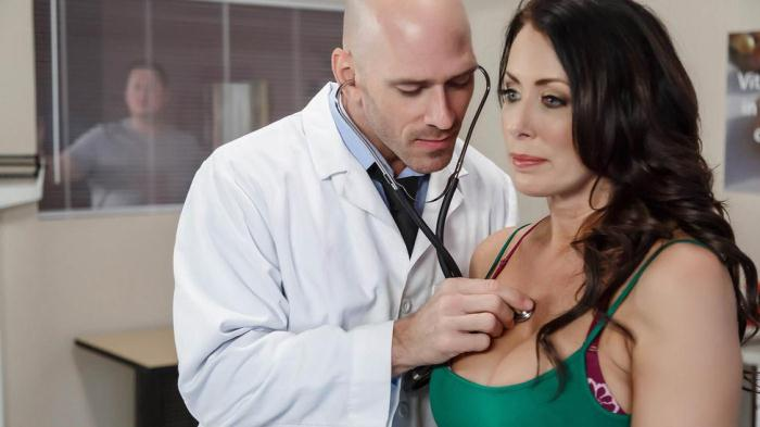 DoctorAdventures.com / Brazzers.com - Reagan Foxx - My Husband Is Right Outside [SD, 480p]