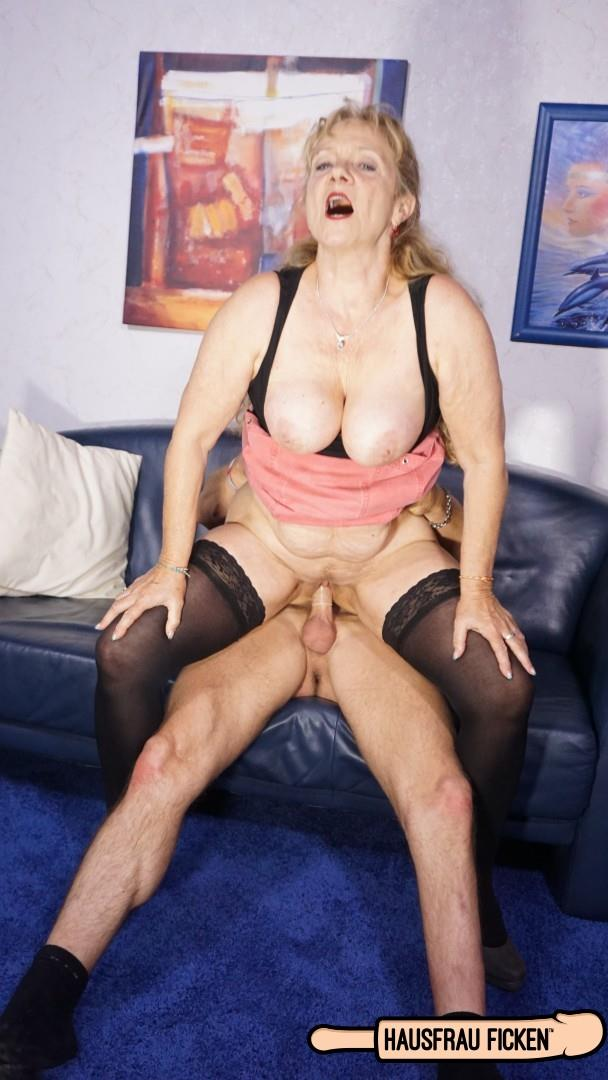Yvonne - Cum on tits splurge for busty blonde German granny cheating with young stud [FullHD 1080p] Porndoepremium.com