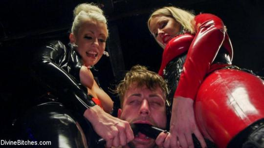 DivineBitches: Maitresse Madeline Marlowe, Tanner Tatum, Lorelei Lee - Fanboy Pussy Worship Dream Come True (SD/540p/594 MB) 14.12.2016