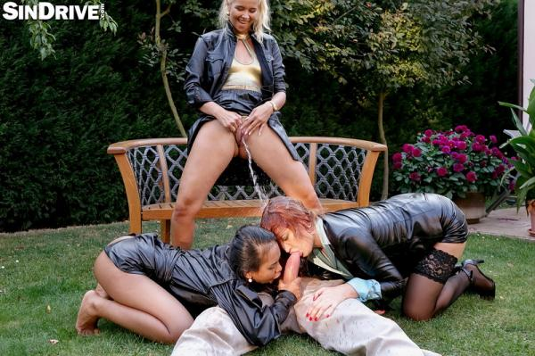 Sindrive: Nikki Dream, Eva Berger, Killa Raketa - Pervy Pissy Power Pussies - We Fuck For Fun and Piss For Jizz: So Make Your Move and Let Us Groove! (FullHD/2016)