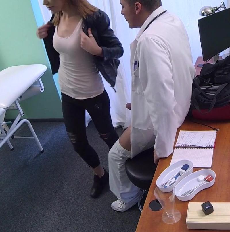 FakeHospital: Jessica Beil - Dirty doctor creampies female thief  [HD 720p] (703 MiB)