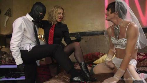 DivineBitches.com / Kink.com [Maitresse Madeline Marlowe, Will Havoc, Tony Orlando - Honeymoon Cuckold At Hotel Divine] SD, 540p