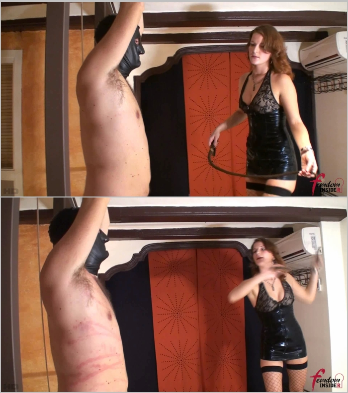 FemdomInsider: Mistress Nataly - Helpless, Tied And Whipped  [FullHD 1080]  (Femdom)