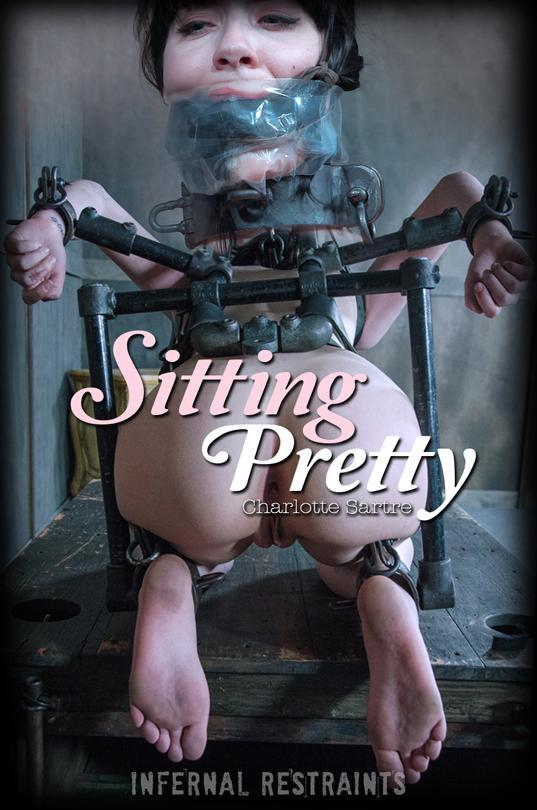 Charlotte Sartre - Sitting Pretty (InfernalRestraints) HD 720p