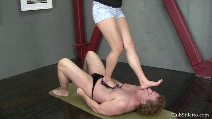 Goddess Therapy - Purple Heel Nightmare (ClubStiletto) HD 720p