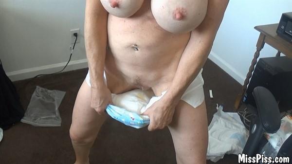Miss Piss - Pee & Cum in Diapers [FullHD 1080p] MissPiss.com
