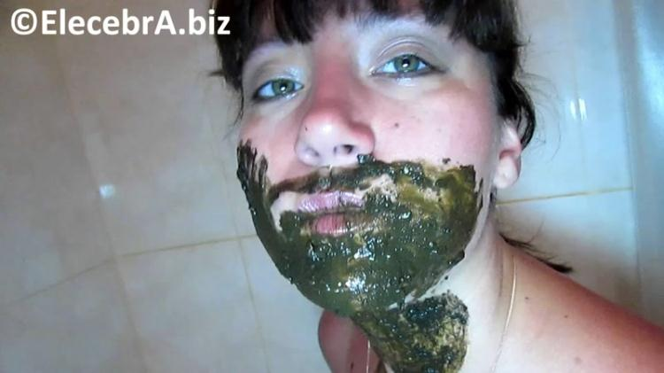 Shit on the face and mouth / 2016 [Elecebra / FullHD]