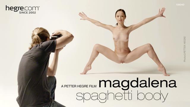 Spaghetti Body - Magdalena / 01.11.2016 [Hegre-Art / FullHD]