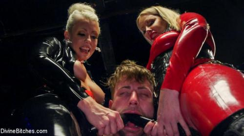 DivineBitches.com / Kink.com [Maitresse Madeline Marlowe, Tanner Tatum, Lorelei Lee - Fanboy Pussy Worship Dream Come True] SD, 540p