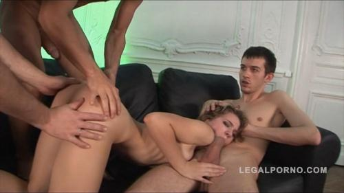L3g4lP0rn0.com [Katrin fucked by 3 guys & double penetration NR110] HD, 720p