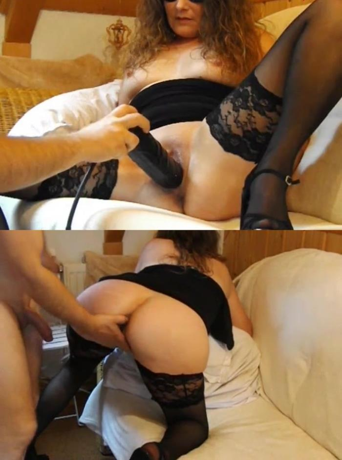 Large dildo and deep fisting for slutty old lady (SD/476p/129 MB/2016)