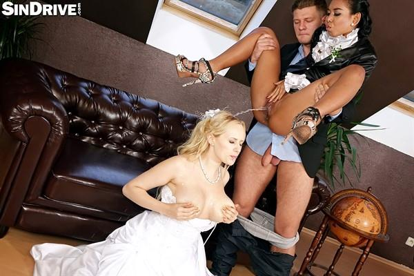 Angel Wicky, Killa Raketa - Wild And Wet Wedding Wanker Weekend (SinDrive) [FullHD 1080p]