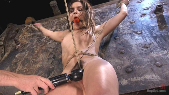 Juliette March - Pain Pixie Suffers in Grueling Bondage, is Tormented, and then Made to Cum (H0gT13d) HD 720p