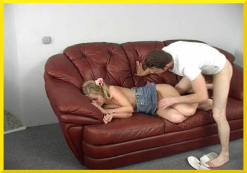 Sex with Cute Young Drunk Blonde Cousin (Incest)  [SD 420p]
