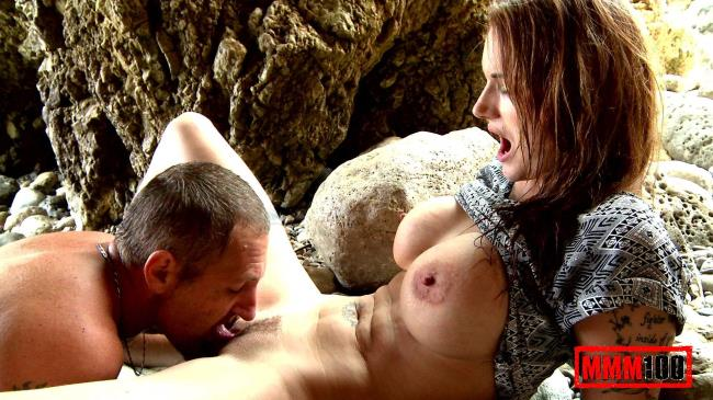 MMM100: Marie Clarence - Saving a guy at the beach and getting fucked in the ass (FullHD/2016)