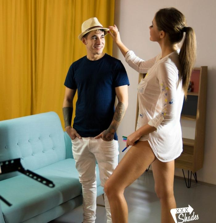 XXXShades/PornDoePremium: Tina Kay - Hot fuck for the sake of art with sensual European babe Tina Kay  [HD 720p]  (Legal Teen)