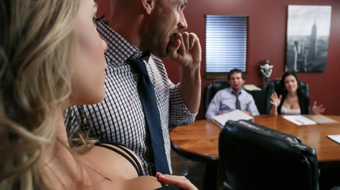 BigTitsAtWork/Brazzers: Nicole Aniston - A Union Nutbuster  [SD 480p]  (Big tit)