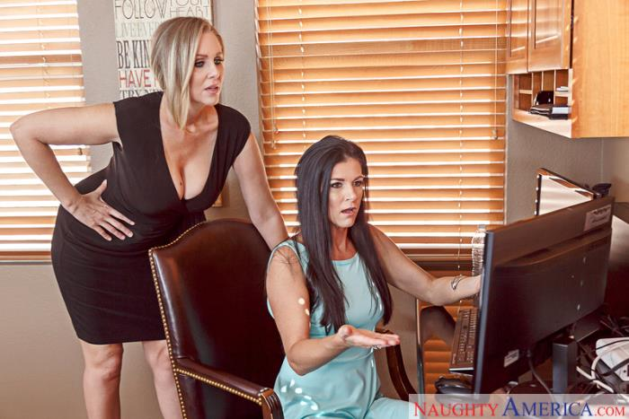 SeducedByACougar/NaughtyAmerica: India Summer, Julia Ann - Seduced By A Cougar  [SD 480p]  (Big tit)