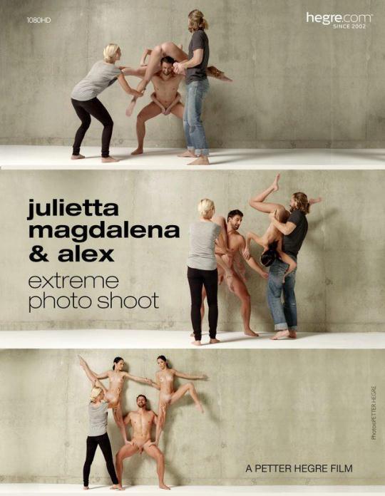H3gr3-4rt: Julietta & Magdalena - Extreme Photo Shoot (FullHD/1080p/102 MB) 08.12.2016