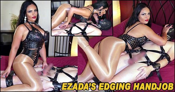 Ezada Sinn - Ezada's Edging Handjob / 11.12.2016 [MistressEzada, TheEnglishMansion / HD]