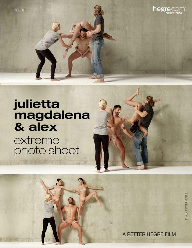 Extreme Photo Shoot - Julietta and Magdalena / 16.08.2016 [Hegre-Art / FullHD]